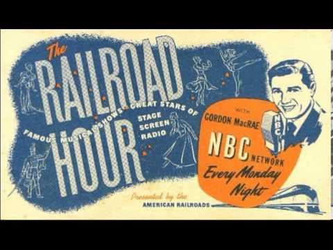 Gordon MacRae Railroad Hour ~ Christmas Party