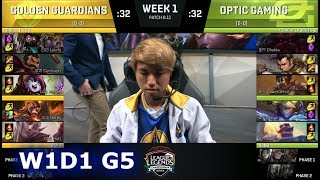 Video Golden Guardians vs OpTic Gaming | Week 1 Day 1 S8 NA LCS Summer 2018 | GGS vs OPT W1D1 download MP3, 3GP, MP4, WEBM, AVI, FLV Juni 2018