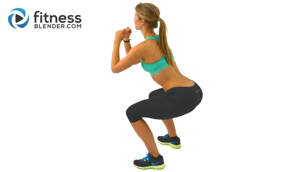 5 minute butt and thigh workout for a bigger butt - exercises to