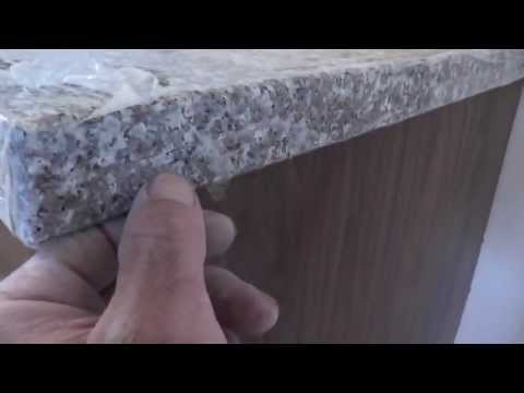 How To Install Granite Countertops On A Budget - Part 5 - Sandpaper Polish Job