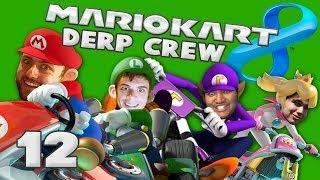 RAINBOW ROAD + TILT CONTROLS (Mario Kart 8 w/ Derp Crew)