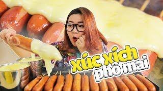 Gambar cover ASMR EATING CHEESE SAUSAGE MUKBANG | ĂN XÚC XÍCH PHÔ MAI TAN CHẢY CỰC NGON | THÁNH ĂN TV