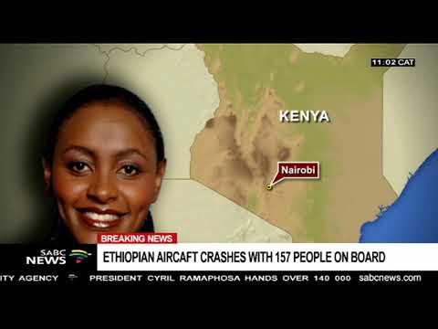 BREAKING NEWS: Nairobi bound Ethiopian flight crashes