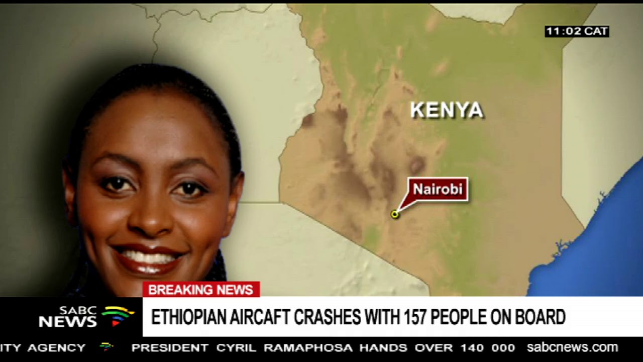 BREAKING NEWS: Nairobi bound Ethiopian flight crashes