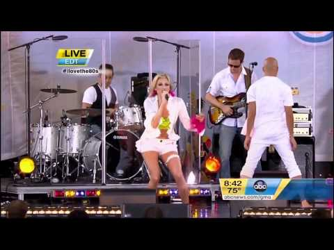 "Debbie Gibson - ""Only in My Dreams"" live on Good Morning America NYC 2011"
