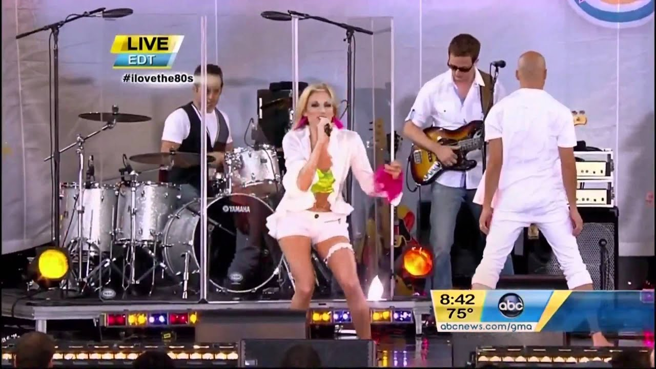 Good Morning America Watch Live : Debbie gibson quot only in my dreams live on good morning