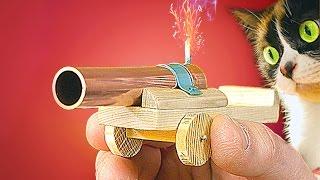як зробити гармату на руку