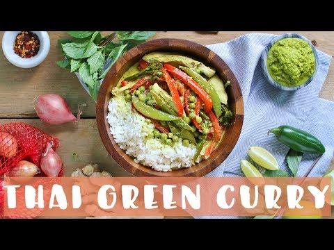 Thai Green Curry Recipe | Healthy Dinner Ideas