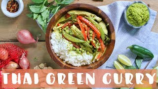 Thai Green Curry Recipe | Healthy Dinner Ideas