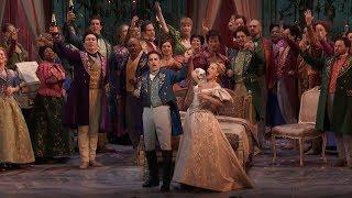 """La Traviata: """"Libiamo, ne' lieti calici"""""""