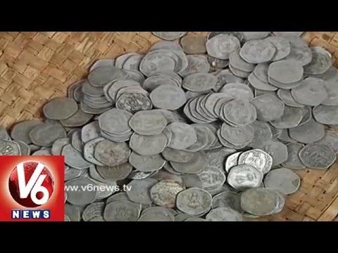 Bada Pahad Dargah in Nizamabad Speciality - Old Coins Distibution still happening