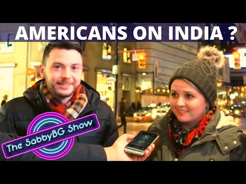 What AMERICANS think of INDIANS | Shudh Desi Street Show - Ep 2 | Americans on India