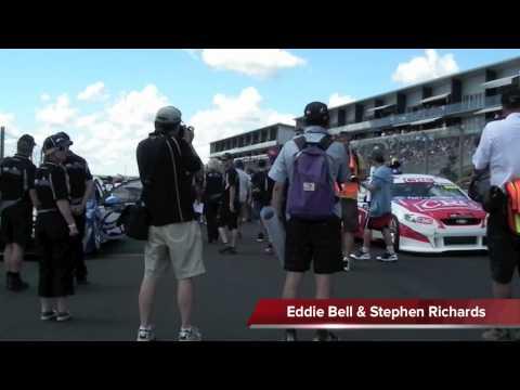 V8 Supertourers Race One Grid Walk