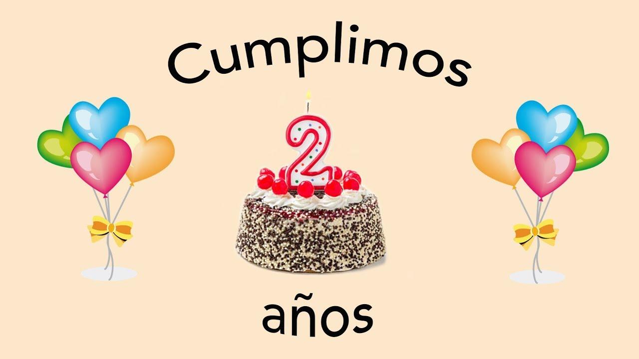 Feliz Aniversario En Espanol: Feliz 2 Aniversario :)