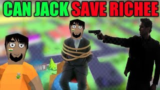 CAN JACK SAVE RICHEE FROM KIDNAPPERS || SASTI GTA V || HARSH IN GAME || #28