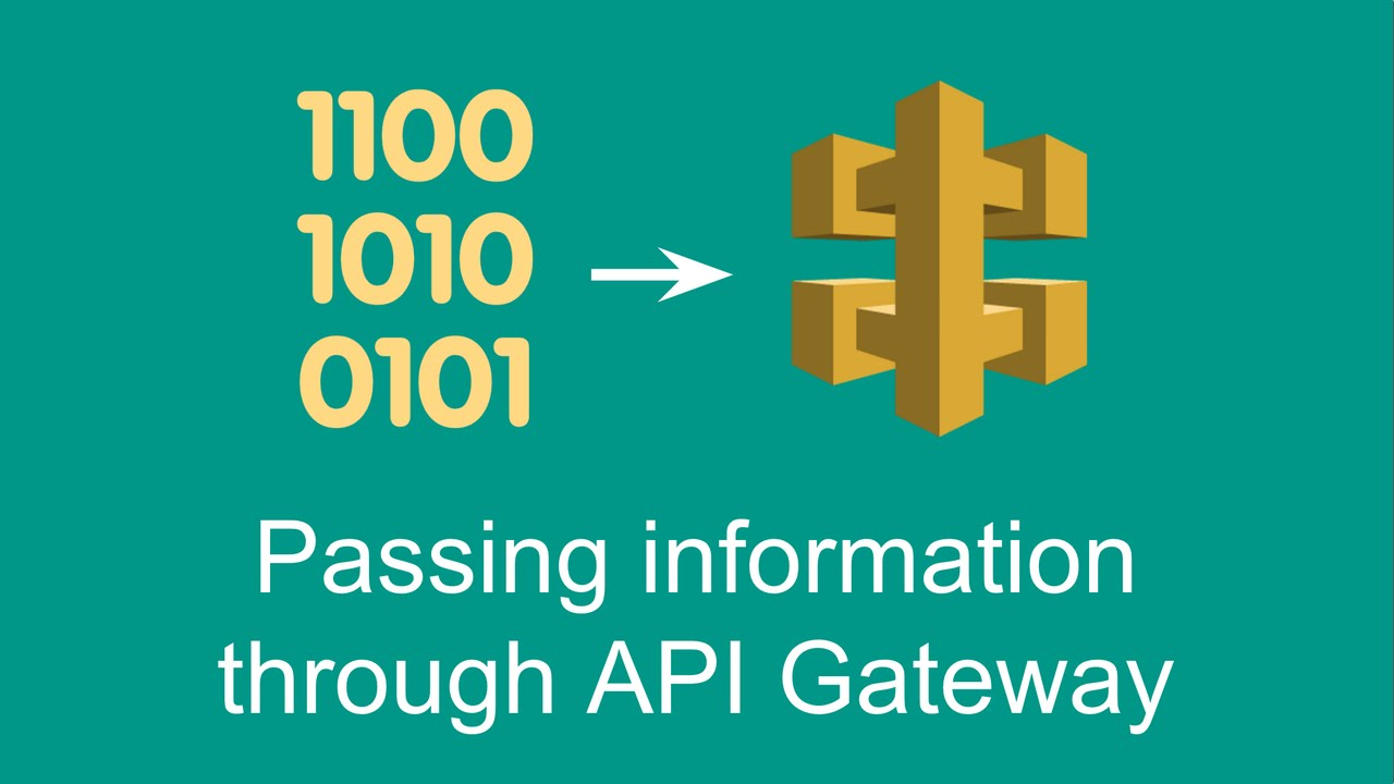 Passing information through API Gateway (Getting started with AWS Lambda,  part 4)