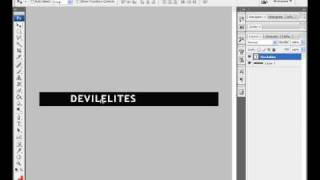 How to make a vman banner in Adobe Photoshop