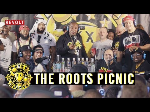 The Roots Picnic | Drink Champs (Full Episode)