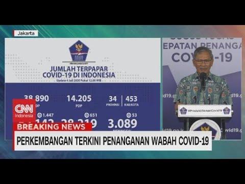 Update Corona 4 Juli: 62.142 Positif, 28.219 Orang Sembuh
