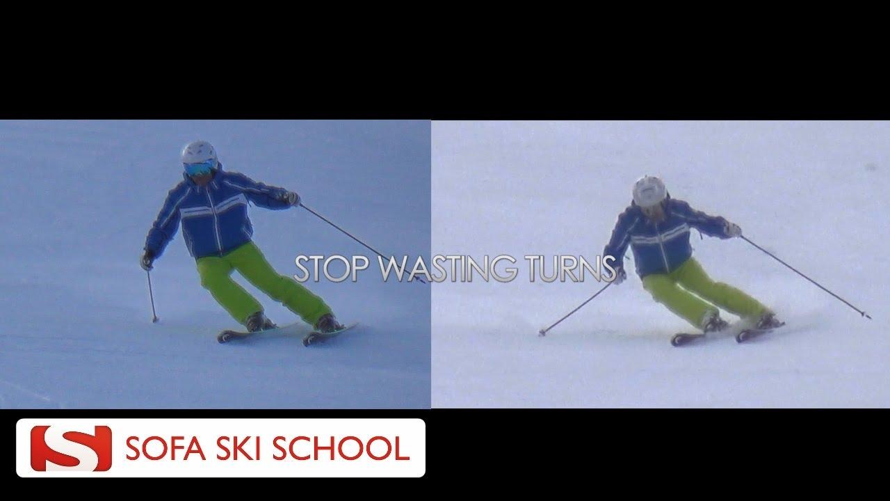 Sofa Ski School, Before After, Outside Ski 1