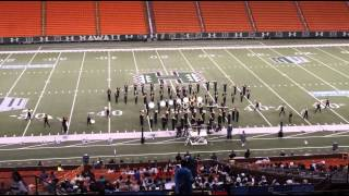 """MUSIC OF EARTH, WIND & FIRE   2013 James Campbell HS """"Saber"""" Marching Band - Rainbow Invitational"""