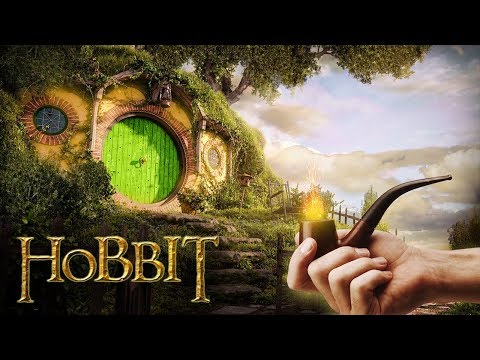 Hobbit Home [ASMR] ◎ Lord Of The Rings Ambience ◎ Bag End - The Shire