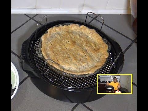 Cherry Pie NuWave Oven Recipe - Large 9.5 Inch Fruit Pie