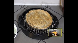 Cherry Pie NuWave Oven Recipe - Large 9.5 Inch Fruit Pie