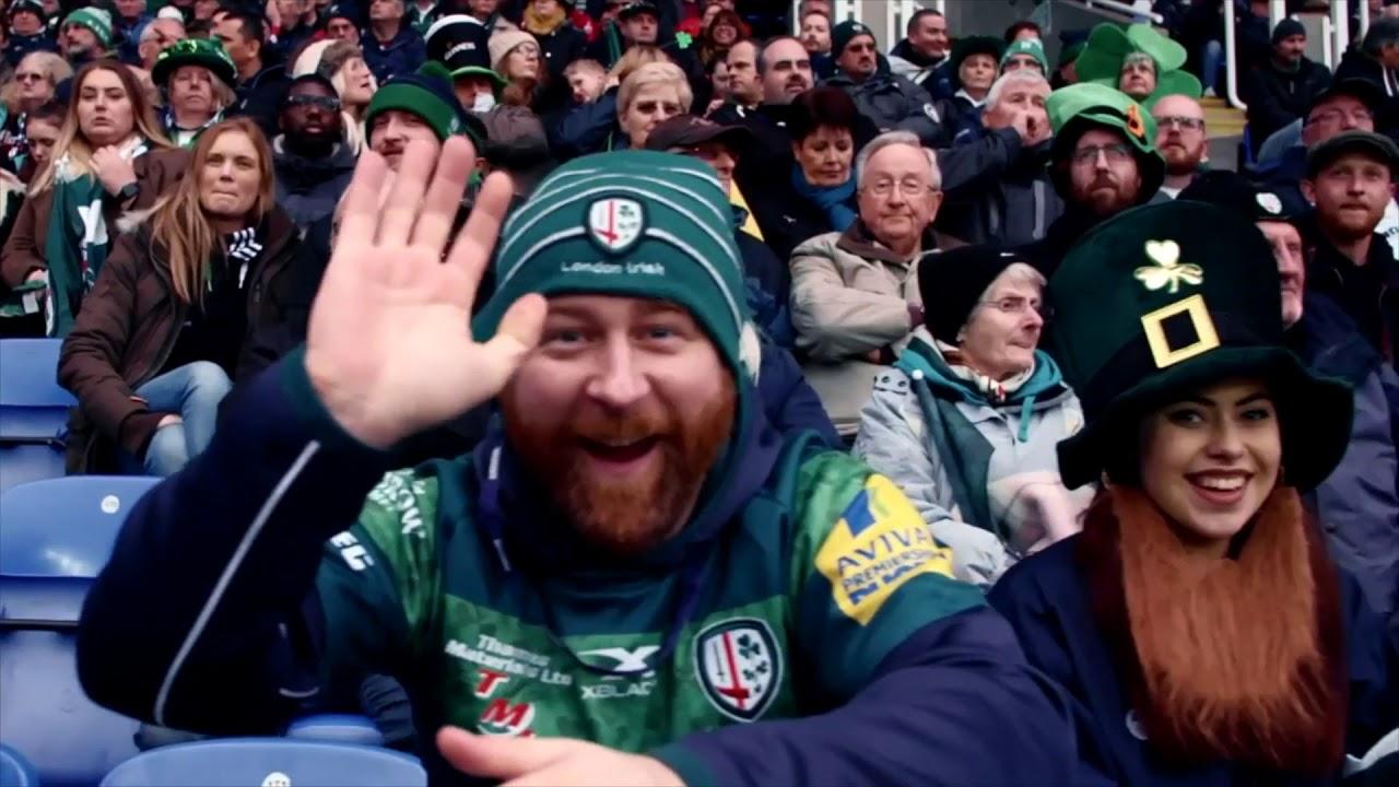 80c866080b8 London Irish v Jersey Reds - Sunday 27 January - YouTube