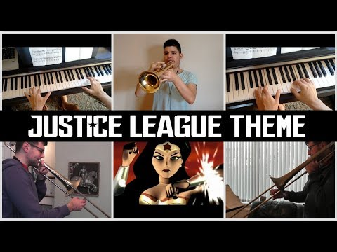 Justice League Opening Theme (Trumpet, Trombone and Piano cover)