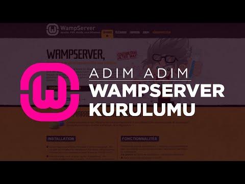 WampServer ile PHP, Apache, MySQL Kurulumu ve Kullanımı (Local Server)