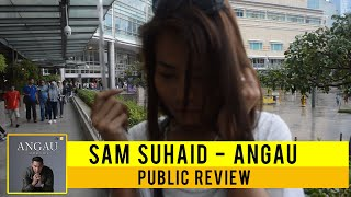 Cover images Public Review : Angau by Sam Suhaid