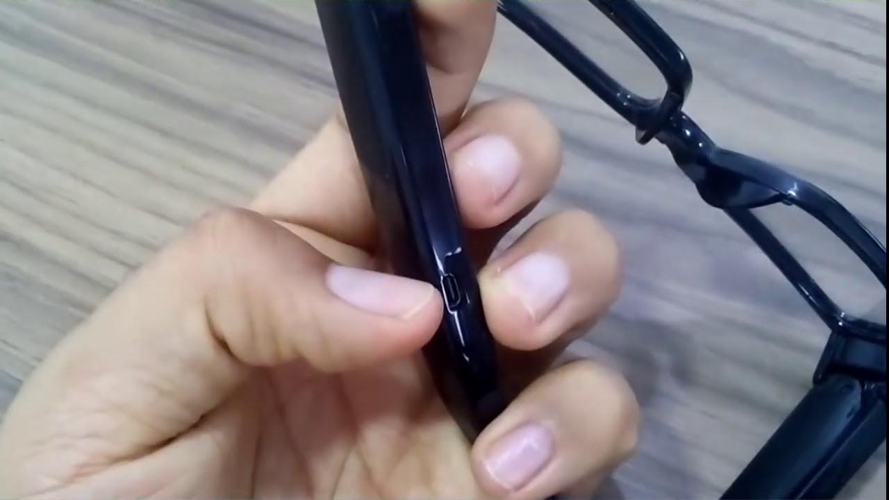 Como usar o óculos espião com câmera fimadora - YouTube afbd1ec6ed