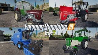 TOP7 NAJLEPSZYCH MODYFIKACJI TYGODNIA Farming Simulator 19   NetNar