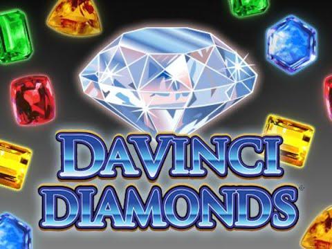 Free Da Vinci Diamonds slot machine by IGT gameplay ★ SlotsUp