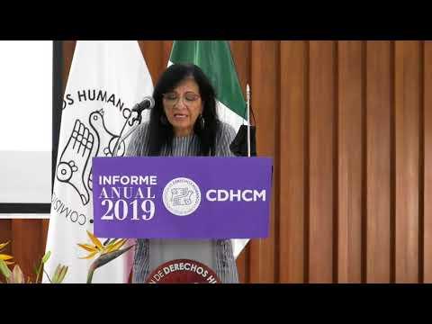 Discurso Nashieli Ramírez Hernández, al rendir Informe Anual 2019 de esta CDHCM