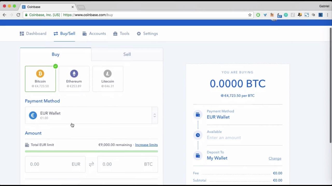 Comment acheter du bitcoin sur COINBASE ? (et autres crypto-monnaies)