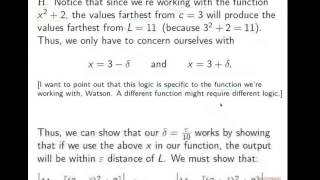 16 02   Formal Definition of a Limit