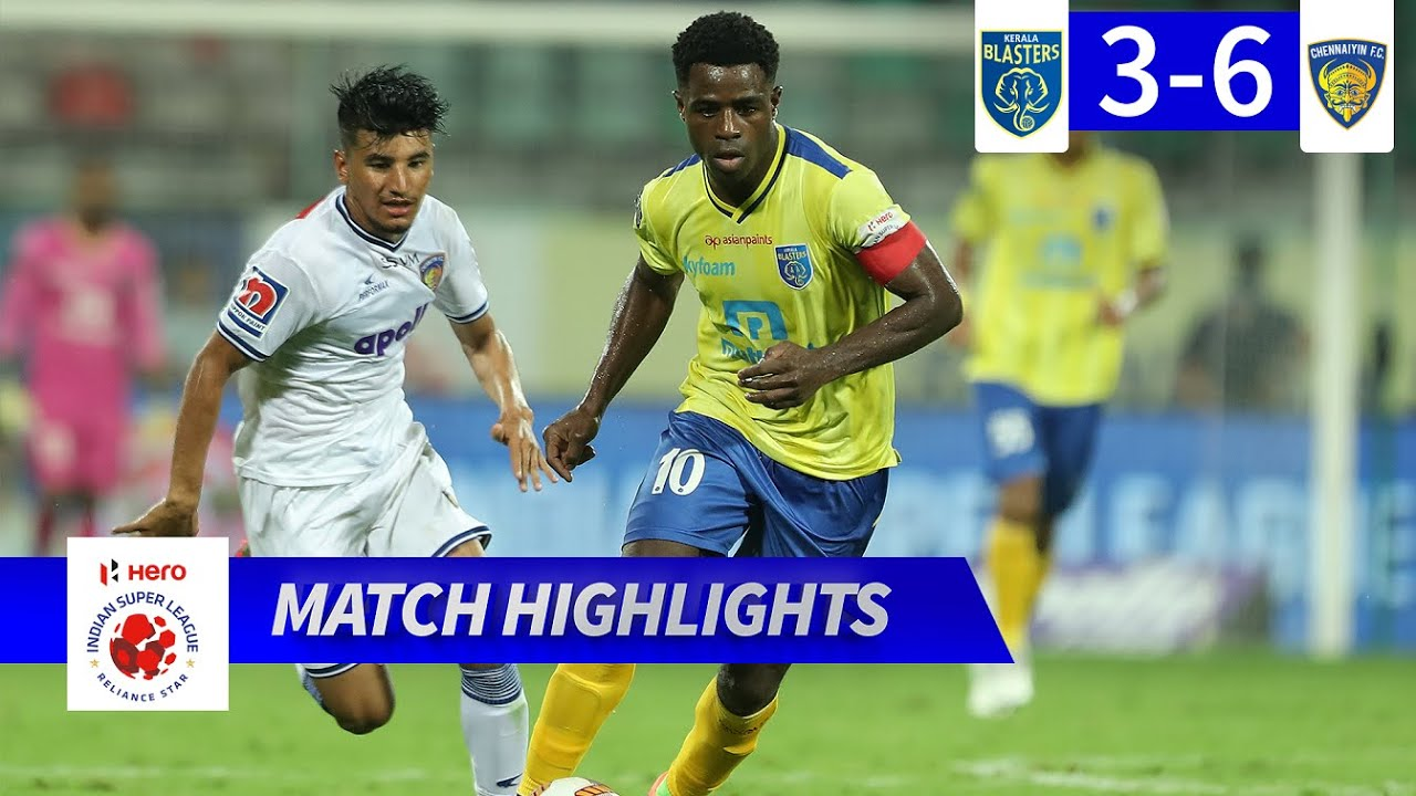 Kerala Blasters FC 3-6 Chennaiyin FC - Match 72 Highlights | Hero ISL 2019-20