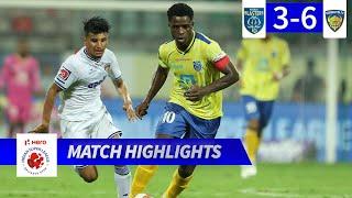 Kerala Blasters FC 3-6 Chennaiyin FC - Match 72 Highlights | Hero ISL 2019-20
