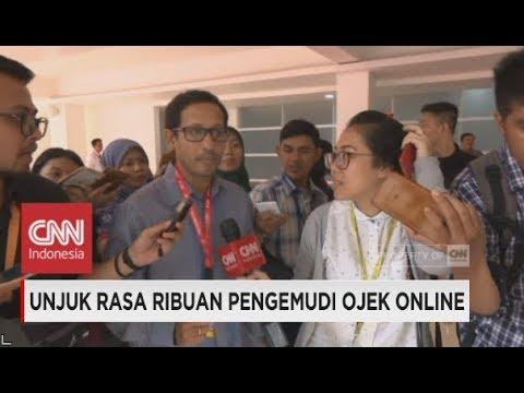Nadiem Makarim Tolak Berkomentar Soal Demo Pengemudi Gojek Mp3