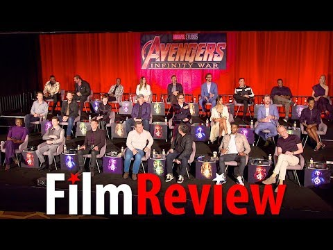Avengers: Infinity War Global Press Conference taster Stars Introduction