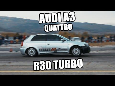 Audi A3 Quattro R30 Turbo 9.637″ @ 244.23km/h | Autokinisimag