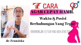 TIPS CARA CEPAT HAMIL  | PROMIL MUDAH DAN SUKSES