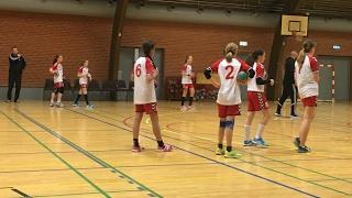 290117 U12 Pige, Række A, Jyderup HK vs. Holbæk