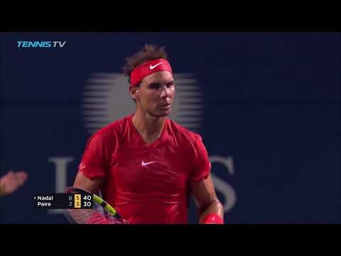 Highlights: Nadal Cruises Past Paire In Toronto