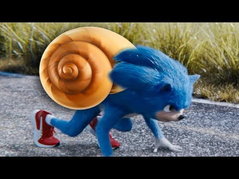 Sonic The Hedgehog Trailer but Sonic is Slow