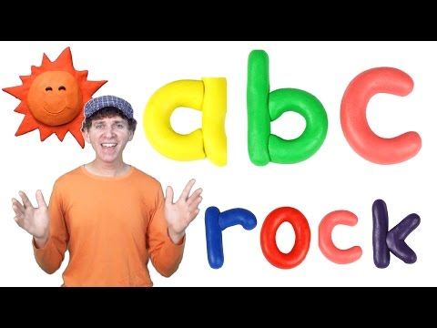 ABC Rock Song Lower Case | Action ABCs | Children, Kids, Preschool, Kindergarten, Learn English
