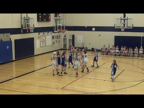 Bentley 6th Grade Girls vs. Spencer Crossing, 2nd Q, 9/18/18