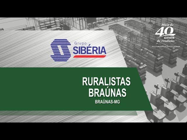 Loja Inaugurada - Loja de Produtos Agropecuários Ruralista Braúnas - Braúnas/MG